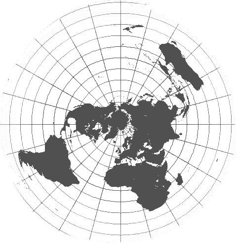 False Reality Forward Seasons Flat Earth Conspiracy Map
