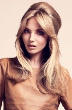 Teased Half Up Sexy Hairstyle Brigitte Bardot Eyes Hair