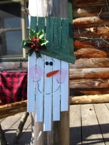 """""""sweetie Snowman"""" North Country Rustics"""