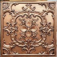PL19 faux tin antique copper ceiling tiles 3D embossed ...