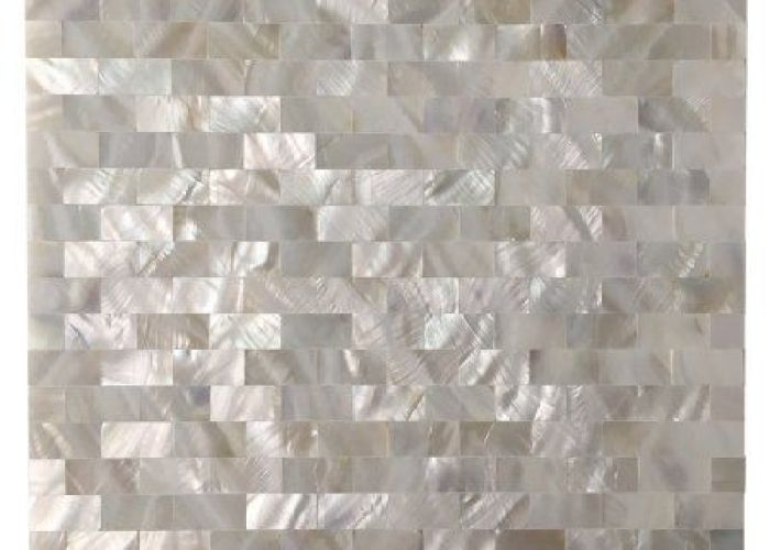 Art  peel and stick kitchen backsplash tile mother of pearl shell mosaic  also