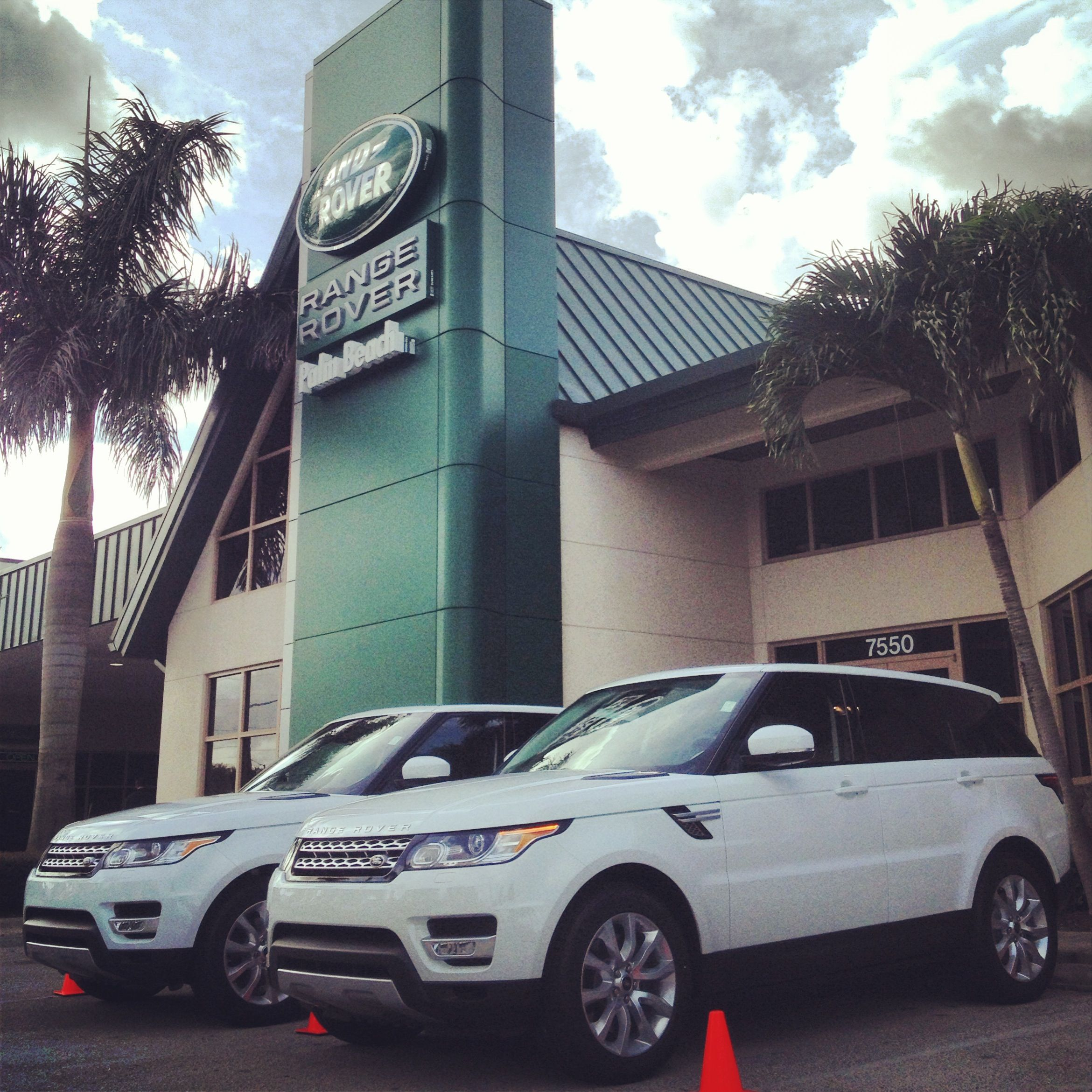 Stop by Land Rover Palm Beach today for the 2014 Range Rover Test