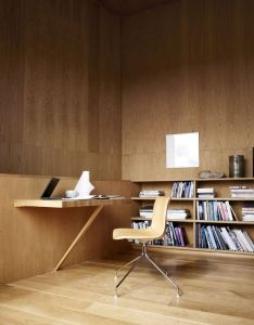 Scandinavian plywood home office design very zen like also pin by yazeed obeid on interiors pinterest desks workspaces and rh