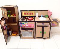 DIY kitchen set from cardboard | DIY kitchen set from ...