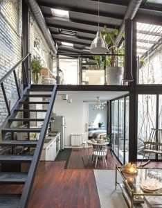 Loft story also lofts industrial and interiors rh pinterest