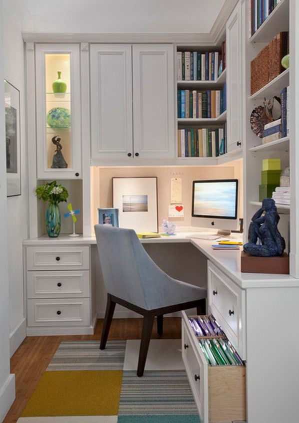 20 Home Office Designs For Small Spaces Home Office Design