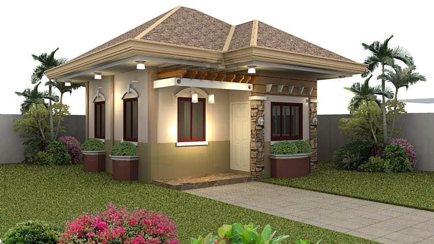 Small House Exterior Look And Interior Design Ideas Tiny House