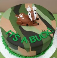 Camo baby shower cake!   Camo baby showers, Camo baby and ...