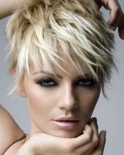 trendy short hair trends edgy haircuts