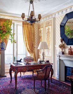 Decorator timothy corrigan invites us inside his paris apartment also rh za pinterest
