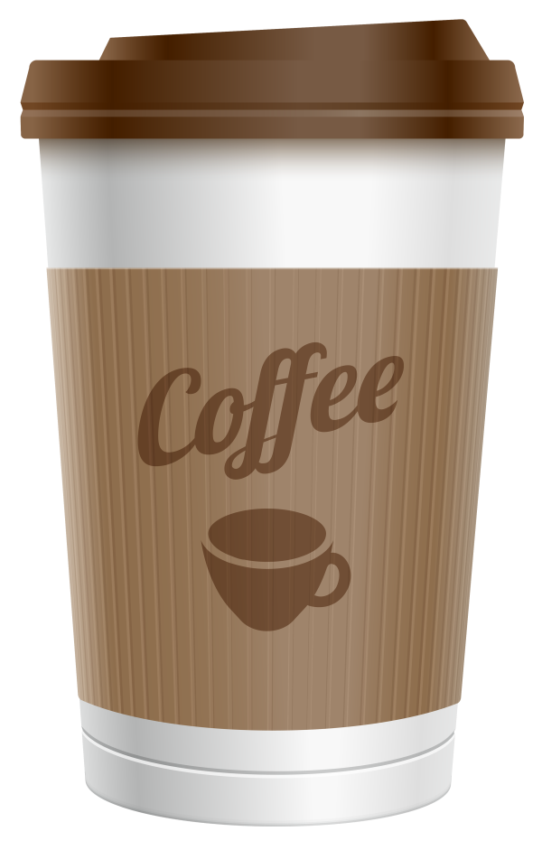 plastic coffee cup clipart