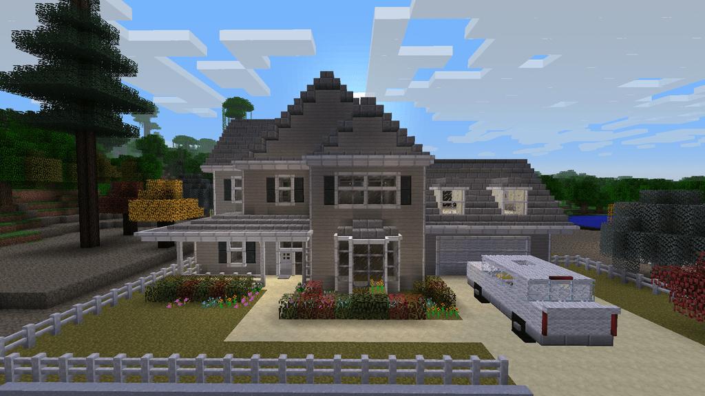 Minecraft Feed The Beast House By Yazur On DeviantArt