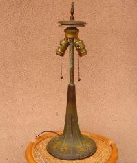 Antique Arts Crafts Handel Tree Trunk Base for Leaded ...