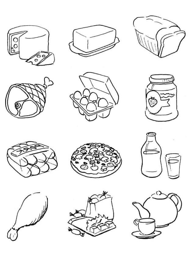 We Ve Got A Large Collection Of Food And Drink Coloring Pages 27 Printable
