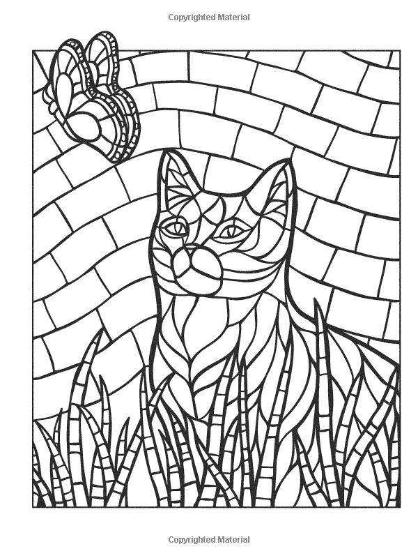 Creative Haven Animal Mosaics: Jessica Mazurkiewicz