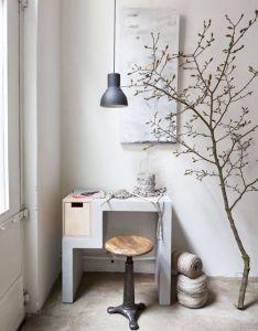Dove gray home decor grey  white office also hektar furnishing pinterest lights and house rh