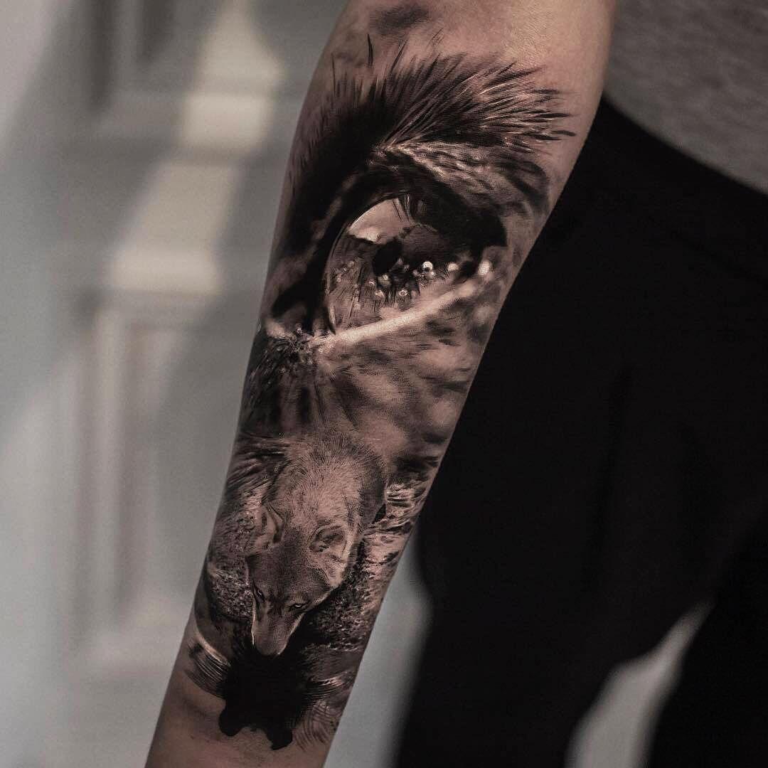 Best Wolf Tattoos