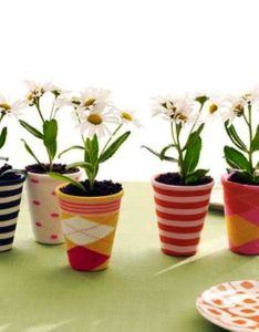 love the idea of covering flower pot in  decorative cover this sock for planter is best on search old socks also adorable cute and funny small painted potts crafts altered rh pinterest