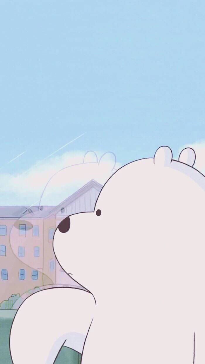 Ice Bear We Bare Bears Phone Wallpaper