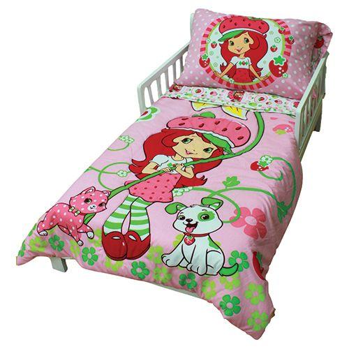 Strawberry Shortcake Toddler Bedding Set (45223