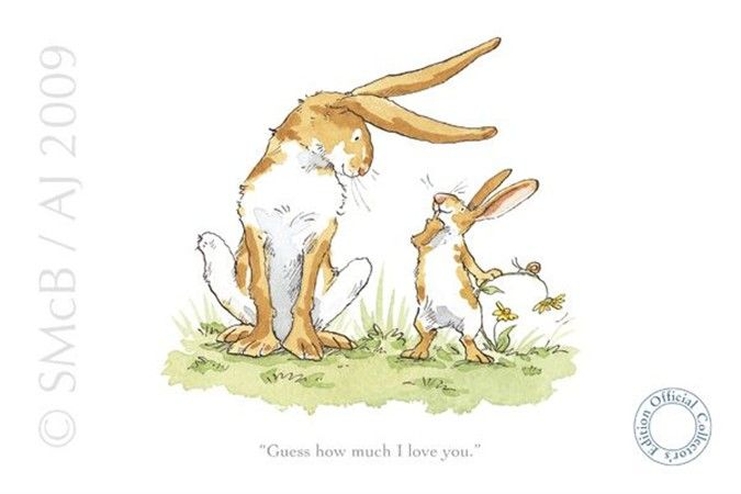 Guess How Much I Love You Anita Jeram Bunny