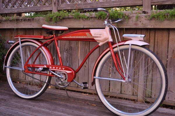 Vintage 1958 Huffy Eldorado Tank Bike Higgins Elgin Monark