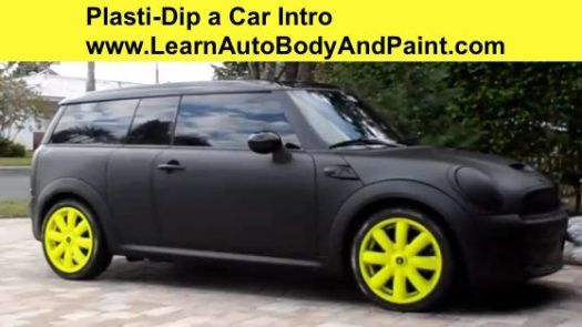 Plasti Dip Car Painting How To Your Part Paint Do It Yourself Auto Body And