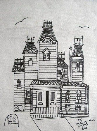 Haunted House Drawing School Pinterest House Drawing
