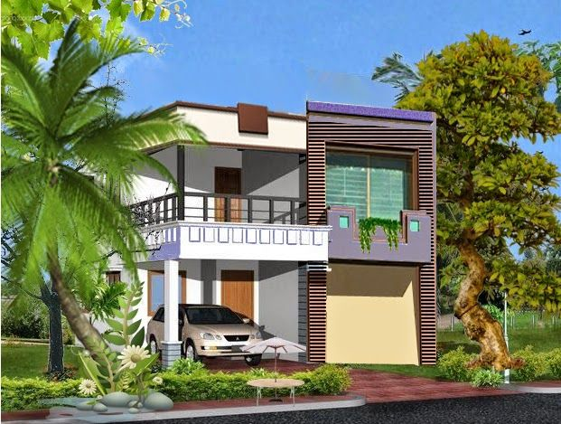 5 Marla Beatiful House Front Design In Pakistan Architect
