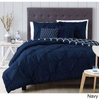 Avondale Manor Madrid 5-piece Comforter Set (King Navy ...