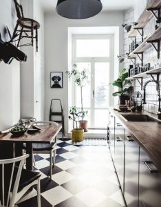 Browsing through this week   real estate ads  fell over beautifully styled stockholm apartment with dark walls and rustic wood floors furnishings also pin by anna viktorova on dream kitchen pinterest kitchens house rh za