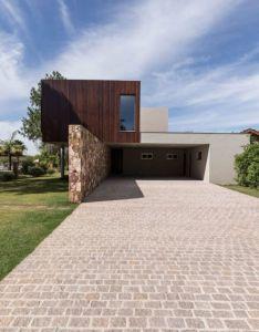 Rmk arquitetura designs  home on the banks of arroio pelotas river also rh pinterest
