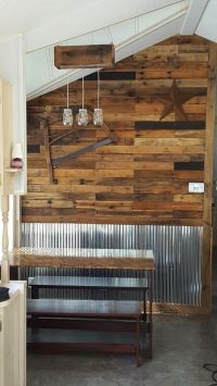Corrugated metal   wall accents   Pinterest   Corrugated ...