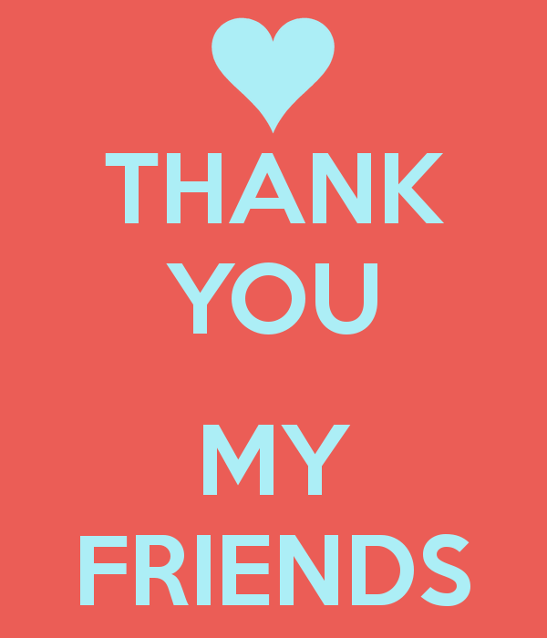 Thankyoumyfriends4png (600×700)  Cards Pinterest