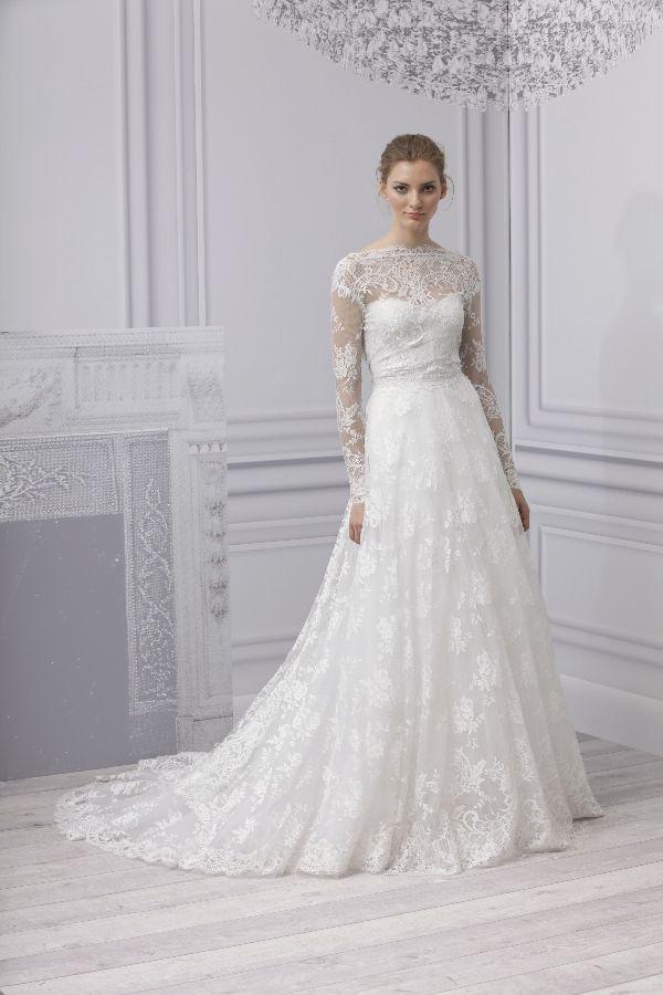 Brautkleid Langarm Spitze Friedatheres Bride Pinterest