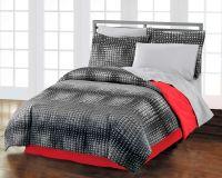 Teen Guys Bedding | Black & Red Teen Boy Bedding Twin XL ...