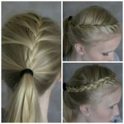 cute athletic hairstyles fade