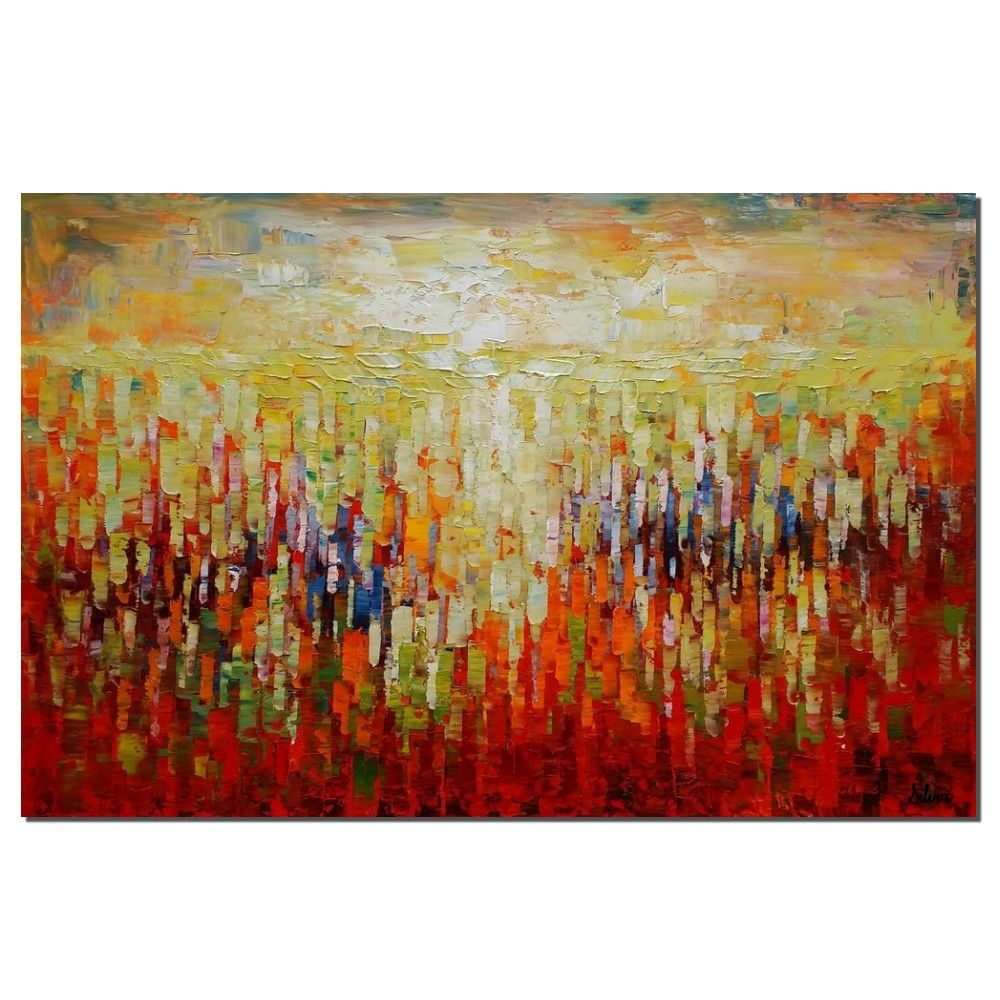 Abstract art oil painting canvas large wall by texturepainting pinterest and paintings also rh