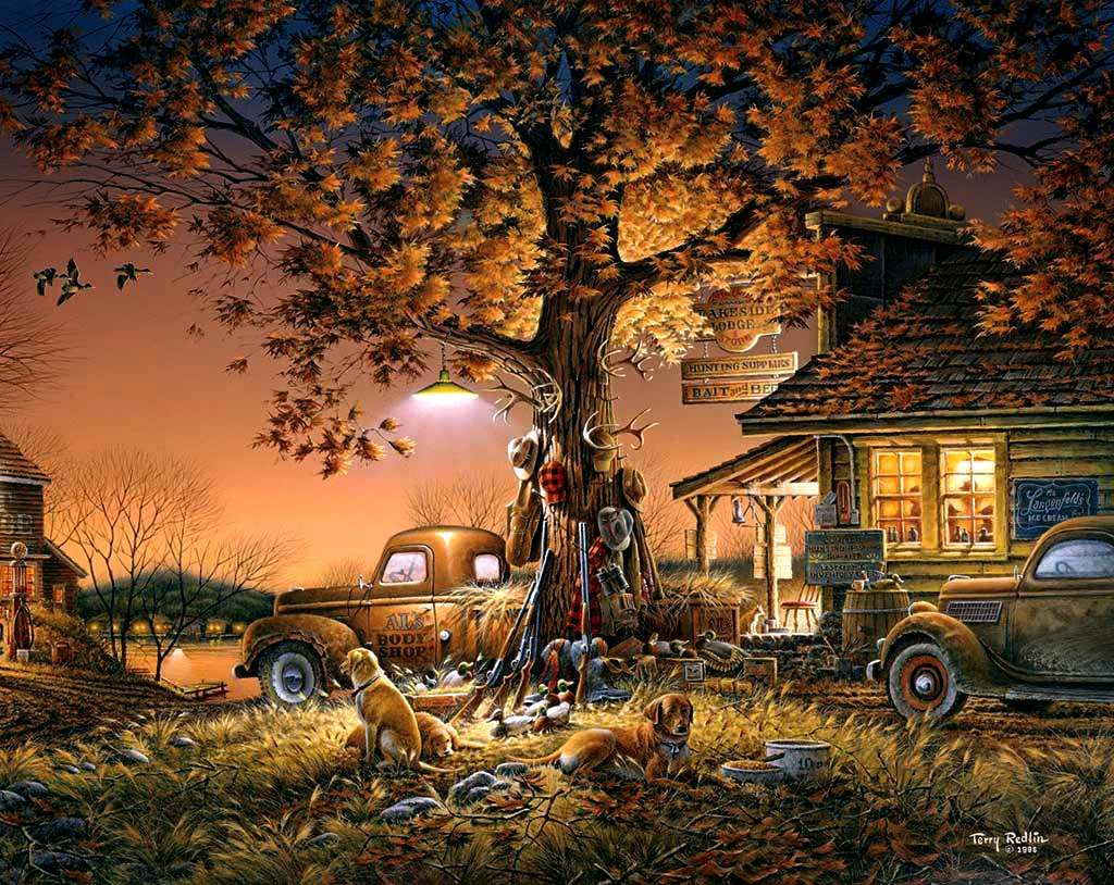 Terry Redlin Twilight Time On Pinterest Discover The