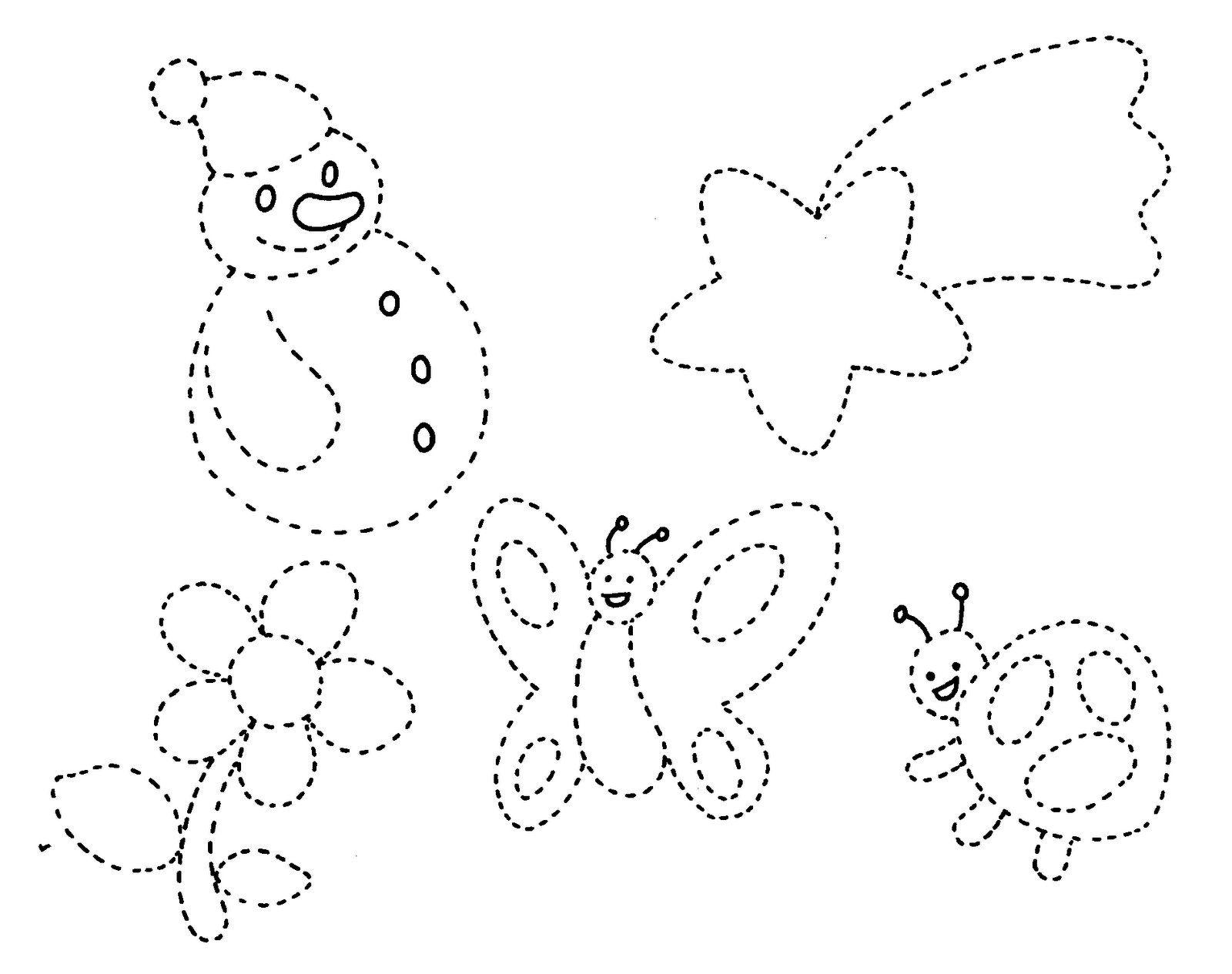 Dibujos Grafomotricidad 5 Anos