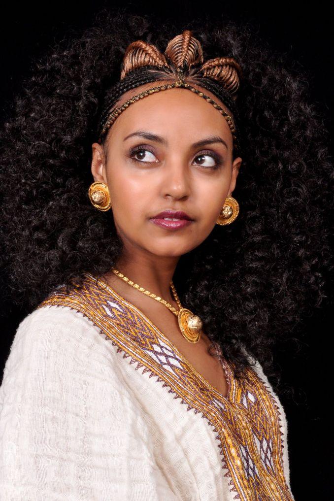 ethiopian wedding hairstyle   wedding