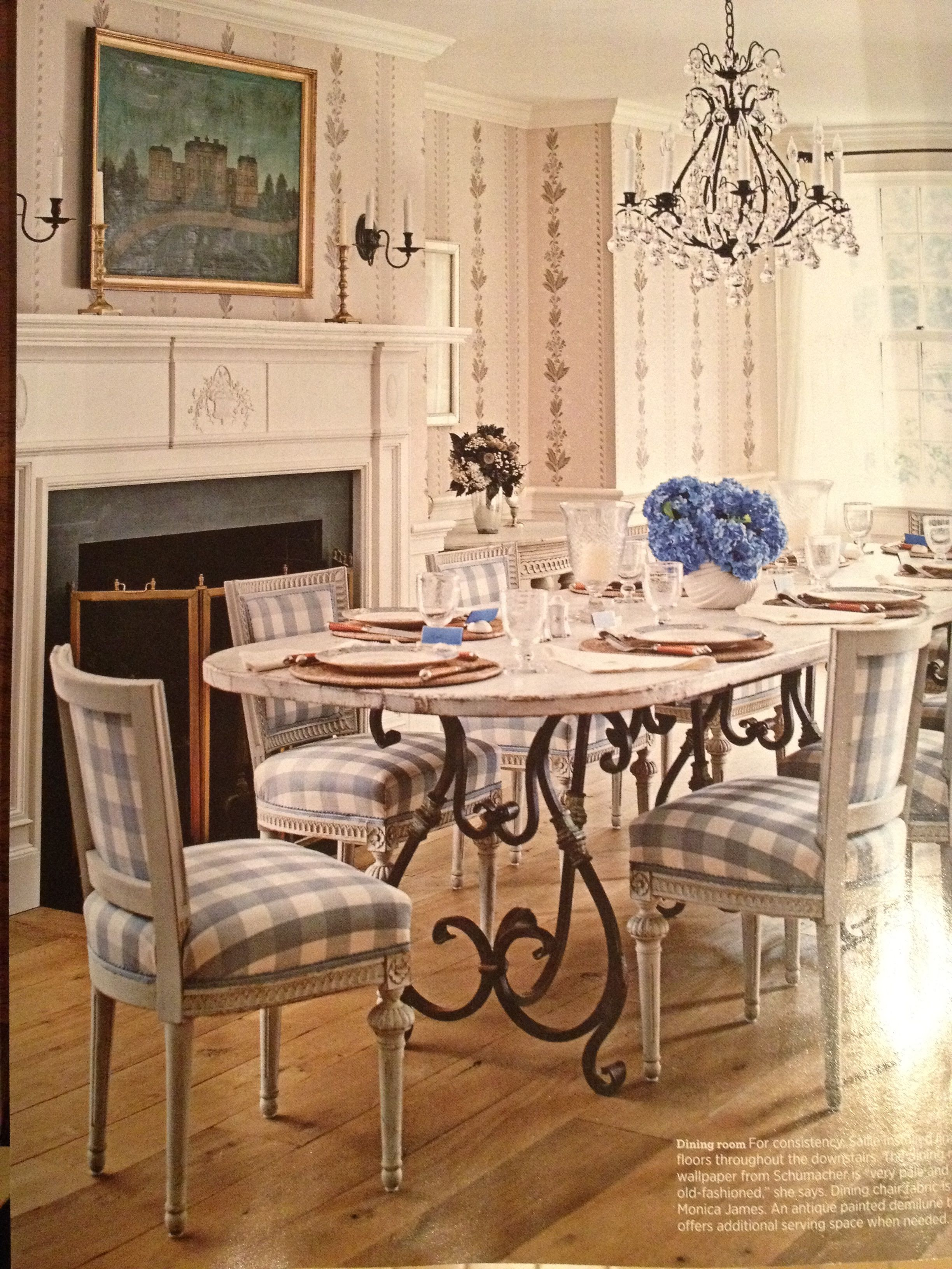 gingham dining room chair covers accent with wood arms buffalo check chairs furniture pinterest