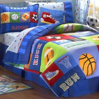 sports quilts for boys | Best Home Kids Bedroom with Sport ...
