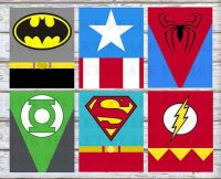PRINTABLE Superhero Wall Art Decor Nursery Room Superman ...