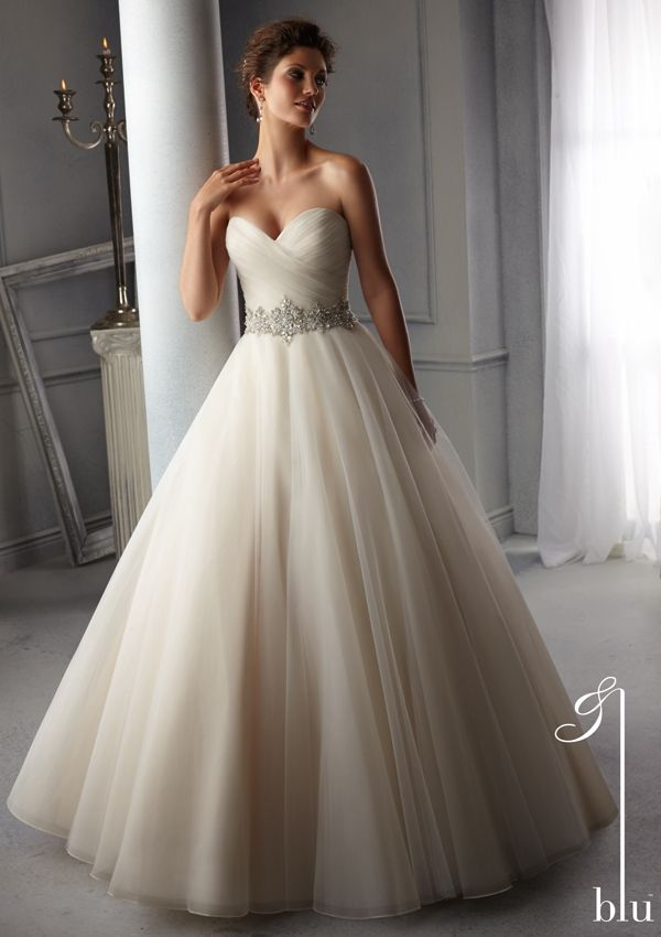 Bridal Dress From Blu By Mori Lee Dress Style 5276 Intricately