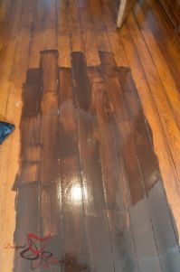 Using Gel Stain over existing stained wood! | Stains ...