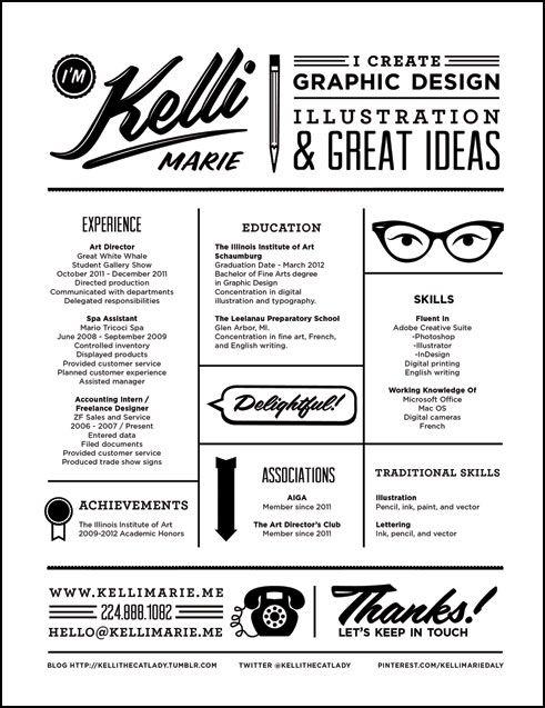 Creative Resume Creative Resumes Pinterest Creative Design