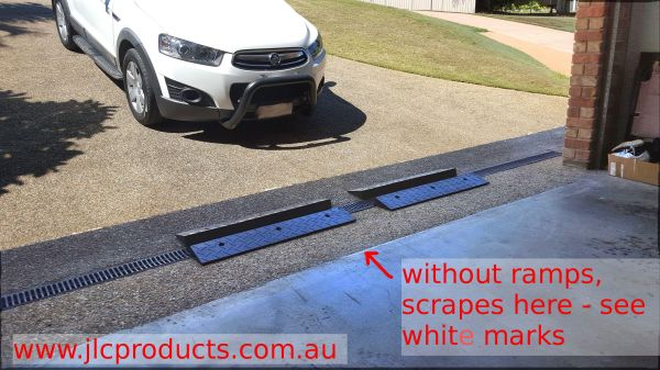 Driveway Curb Ramps For Low Cars - Year of Clean Water