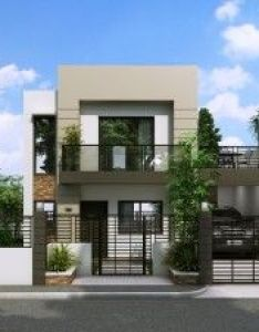 Mhd front view modern small house designdream also elevation model pinterest story rh