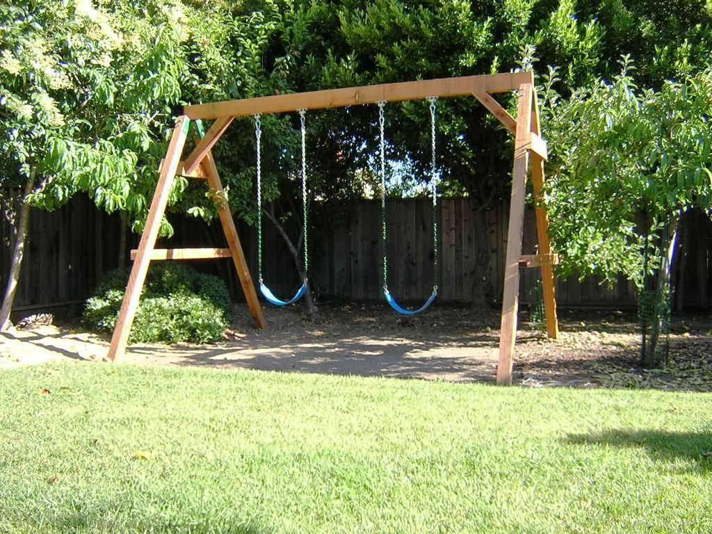 how to build a wooden swing